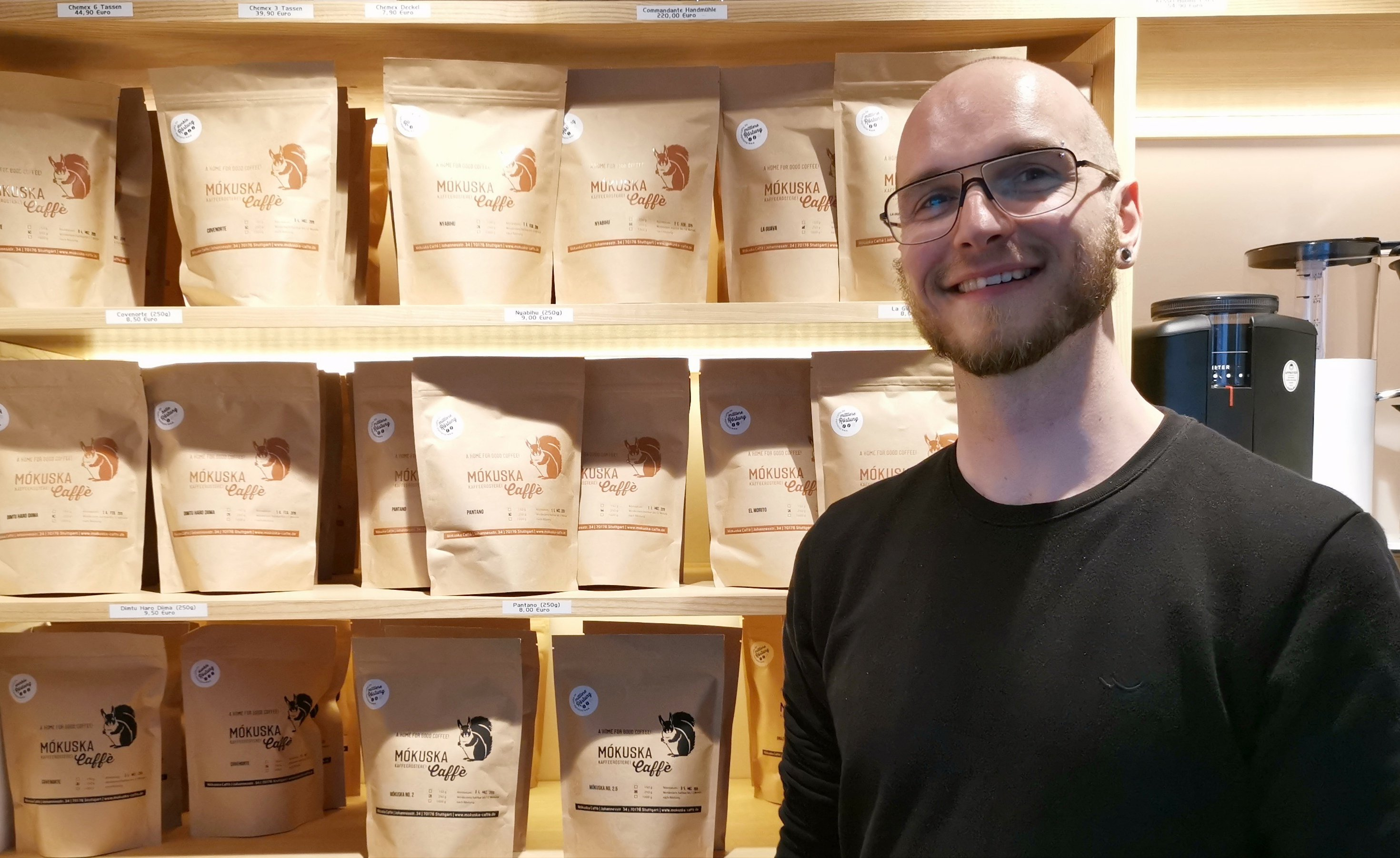 Harald von Mókuska Caffè